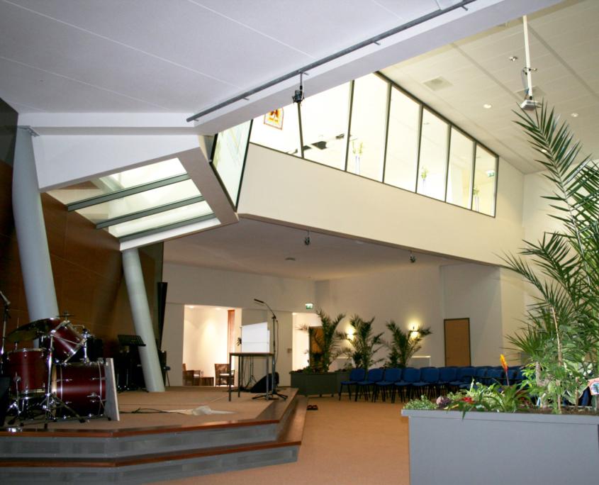 Nieuwbouw kerkelijk centrum + huisartsen-onder-één-dak te Haarlem