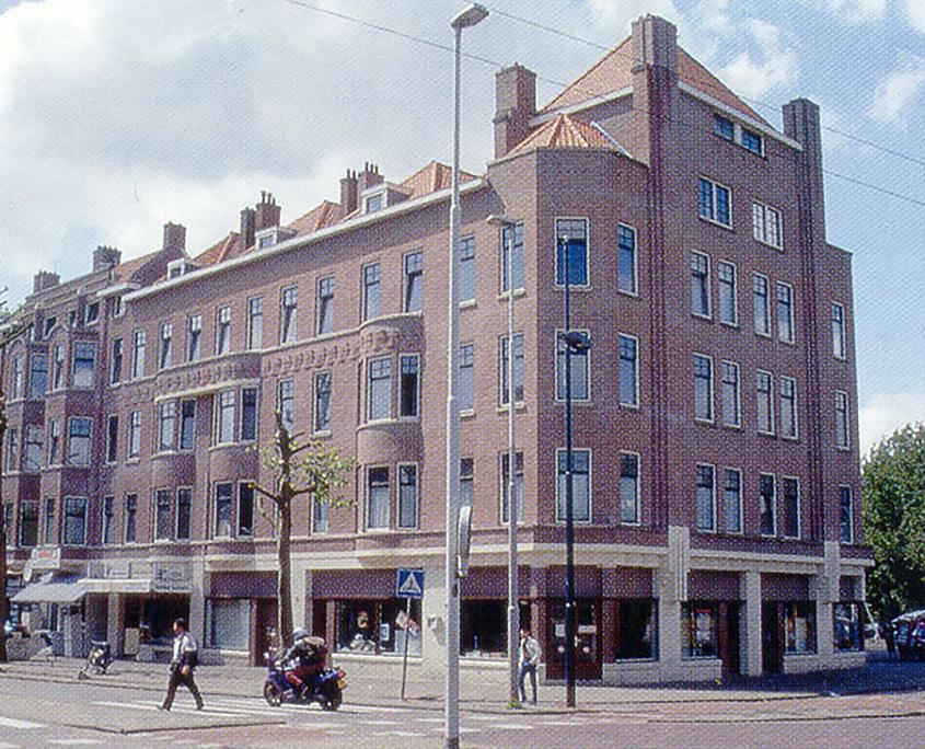 Gevelbeeld stadsvernieuwing Delfshaven – Rotterdam - Architect John Bieze