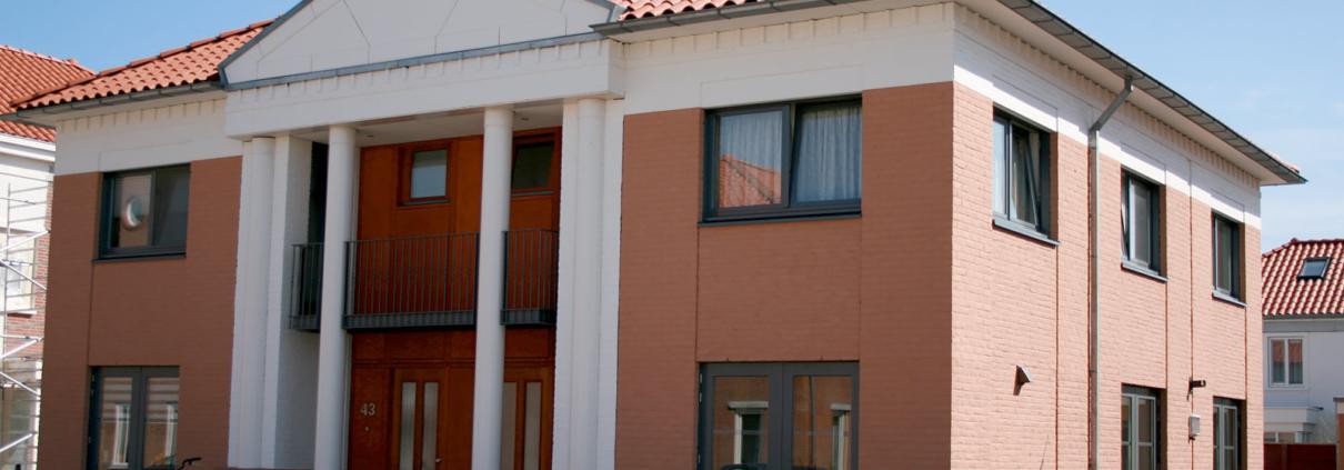nieuwbouw dubbel woonhuis