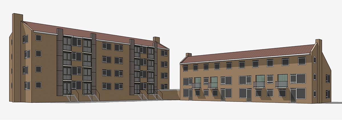 renovatie appartementen woonblokken