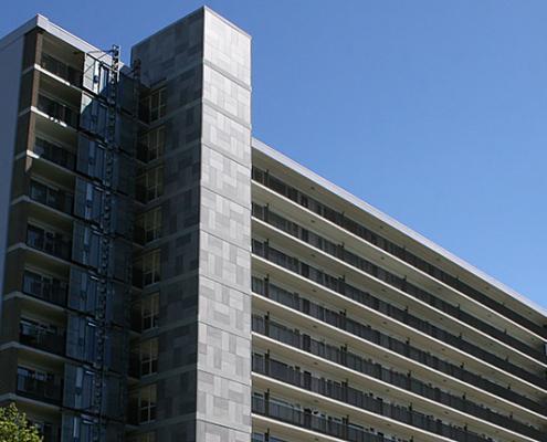 renovatie flatgebouwen te Amstelveen