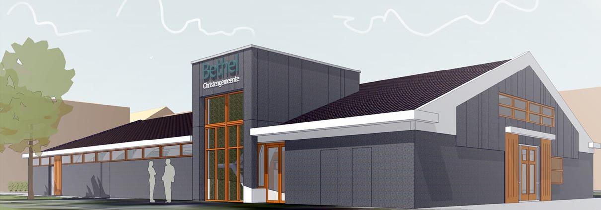 renovatie kerkelijk centrum Bethel met kinderdagverblijf en buurtactiviteiten