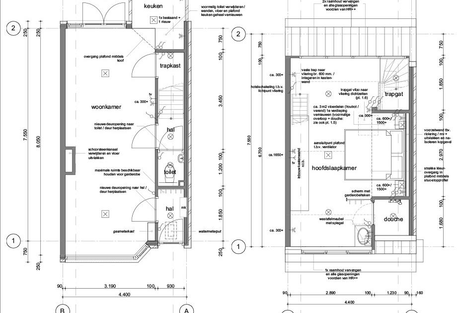 Planuitwerking verbouw woning